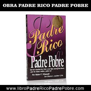 Libro Padre Rico Padre Pobre de Robert Kiyosaki.