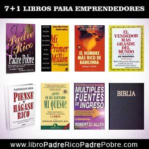 7 Libros para emprendedores.