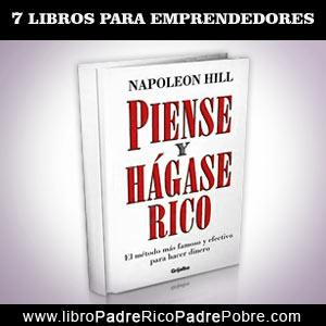 Libro Piense y hágase rico de Napoleón Hill