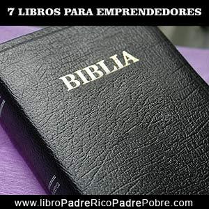 La Biblia, un libro para emprendedores.