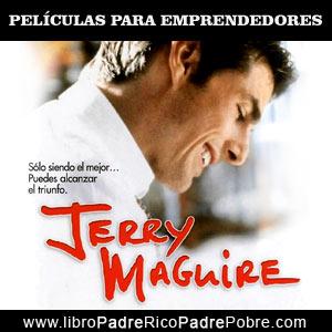 Peliculas de emprendedores: Jerry Maguire.