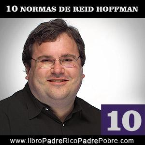 Las 10 normas de Reid Hoffman para emprendedores.
