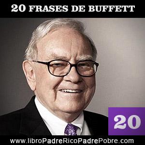20 grandes frases de un genio financiero: Warren Buffett.