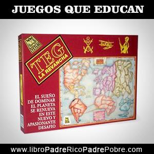 Juegos que educan financieramente: T.E.G., estrategia de guerra.