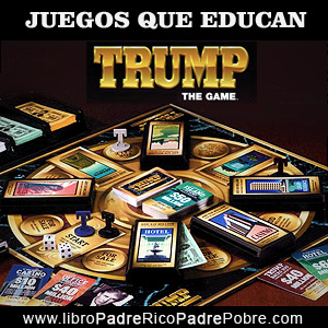 Juegos que educan financieramente: Trump, de Donald Trump.