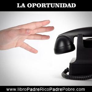 La oportunidad de hacer dinero sin dinero le llegó a través de un llamado telefónico equivocado.