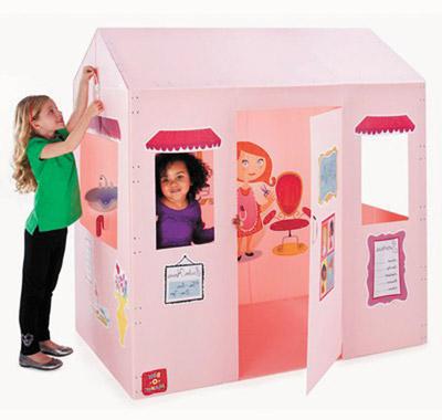 5 ni os que crearon negocios rentables de la nada padre for Casas de plastico para ninos