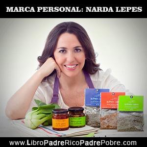 Narda Lepes, la marca personal y los negocios de cocina.
