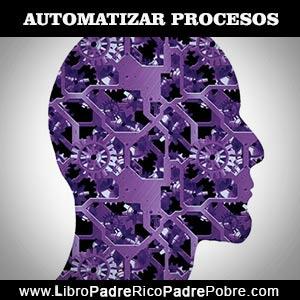 Automatizar procesos: trabajar menos, mejor avanzar más rápido y tener más tiempo.