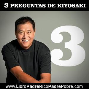 Las 3 preguntas de Robert Kiyosaki